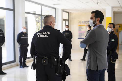 Alcalde Almería Policía Local