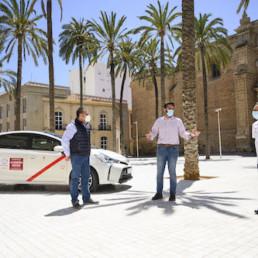 Reunión taxistas Almería