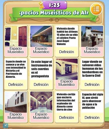 Almería espacios museístico