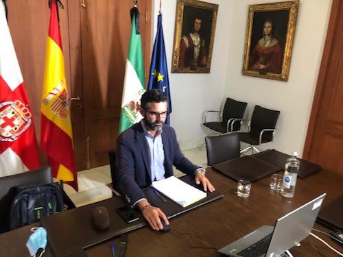 Alcalde Almería mesa empleo