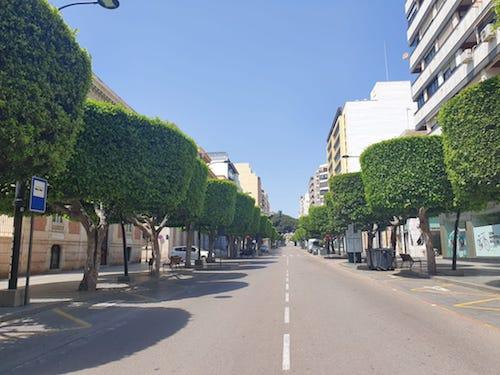 Almería proyecto Paseo