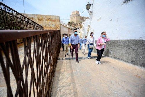 Visita Alcalde Almería Alcazaba