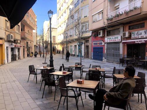 Terrazas hostelería Almería