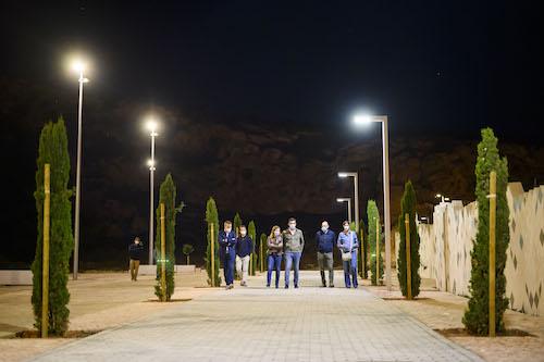 Ayuntamiento Almería iluminación