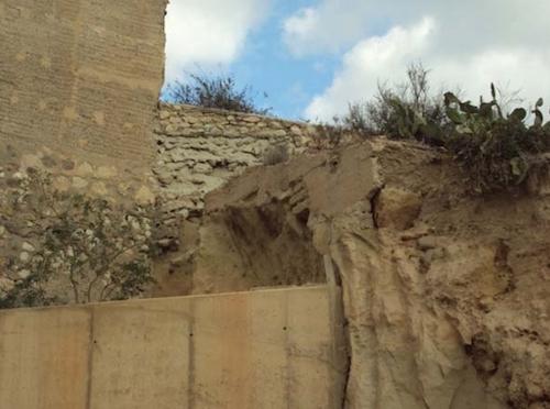 Almería muralla Mesón gitano