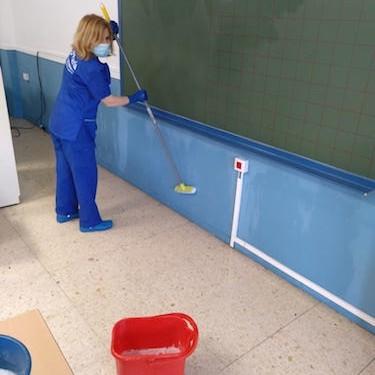 Desinfección colegios Almería