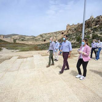 Almería obras entorno Alcazaba