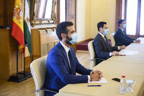 Reunión Juanma Moreno Alcaldes