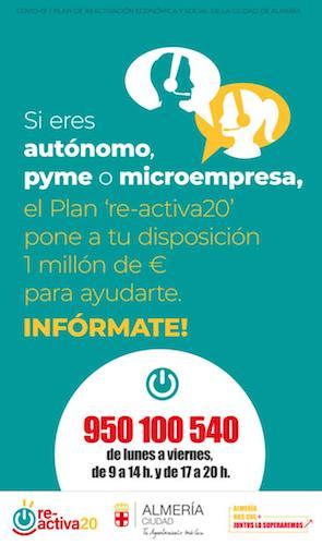 Ayudas municipales Almería comercio
