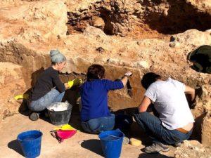 Trabajos arqueología Almería