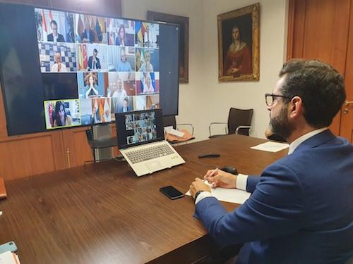 Alcalde Almería reunión IMV