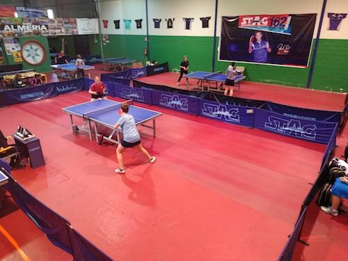 Almería deportes tenis mesa