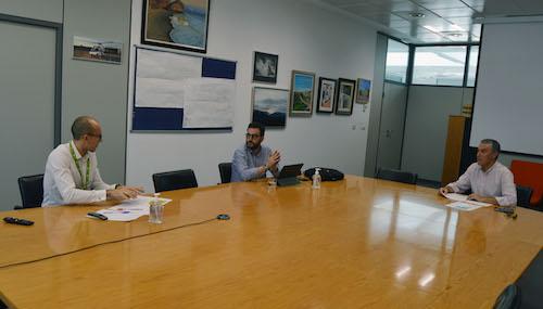 Almería reunión aeropuerto
