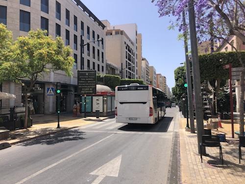 Almería movilidad Covid19 Surbus