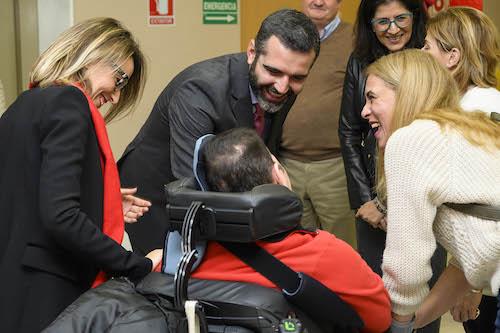 Alcalde Almería apoyo discapacidad