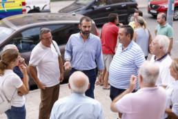 Alcalde Almería reunión vecinos