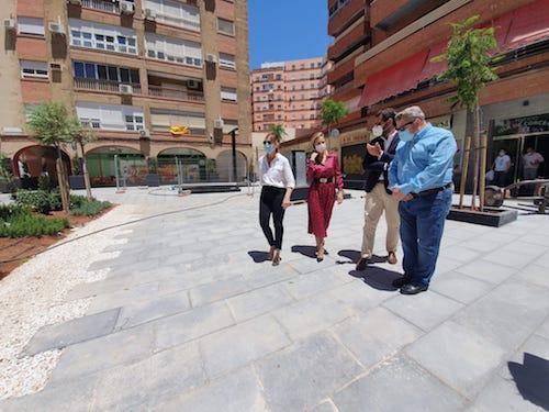 Almería escultura homenaje sanitarios