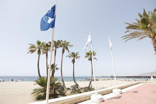 Bandera azul playas Almería