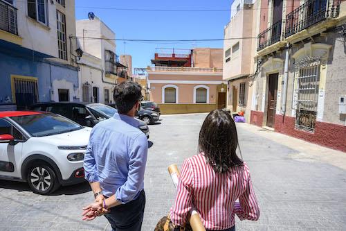 Plaza Cepero urbanismo Almería