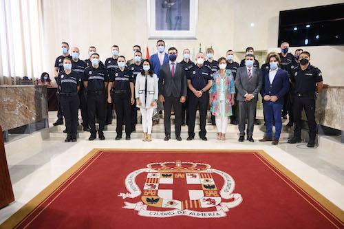 Almería nuevos Policías locales