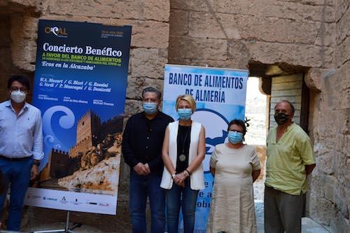 Almería Alcazaba concierto benéfico