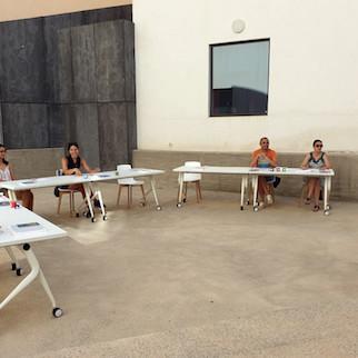 Almería cultura talleres biblioteca