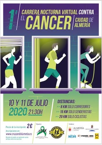 Carrera virtual Cáncer Almería