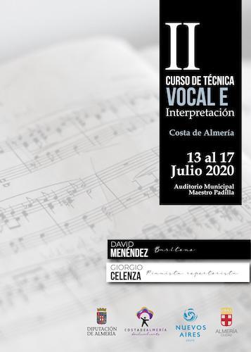 Almería curso técnica vocal