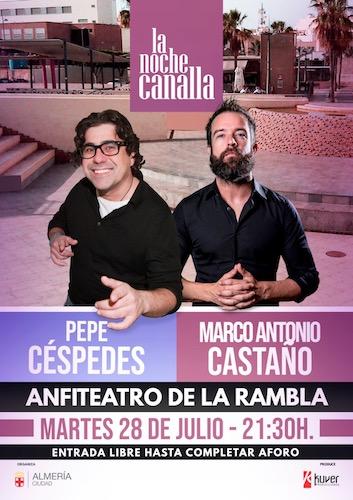 Almería cultura Noche canalla