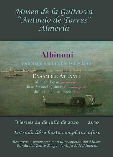 Almería concierto Museo Guitarra