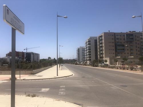 Almería obras movilidad