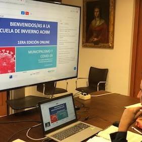Reunión municipalistas Ayuntamiento Almería