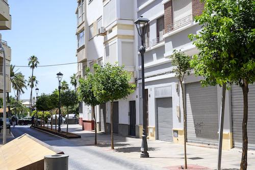 Almería sostenibilidad luces led