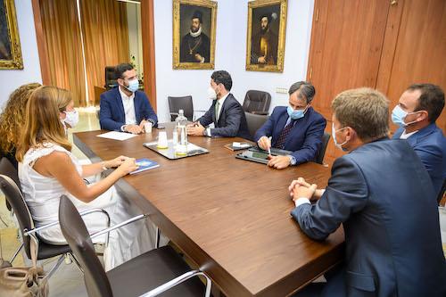 Alcalde Almería reunión Orange