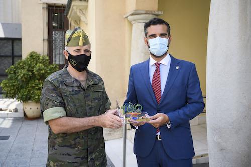 Almería visita legión Alcalde