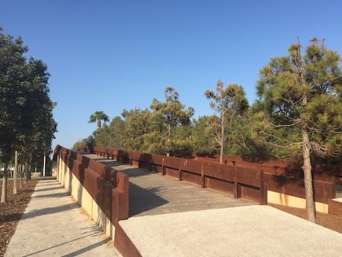 Almería Pasarelas peatonales Toyo