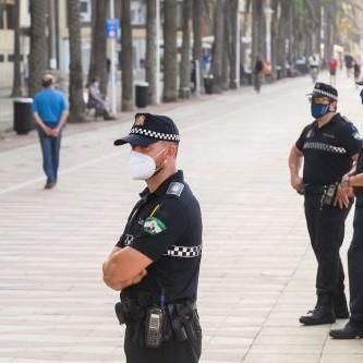 Almería Policía dispositivo Covid
