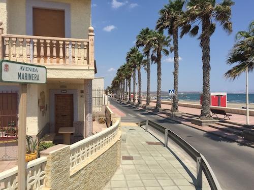 Almería paseo Costacabana