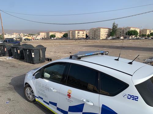 Dispositivo policía local Almería