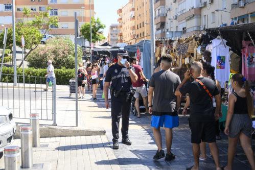 Covid Almería policía local