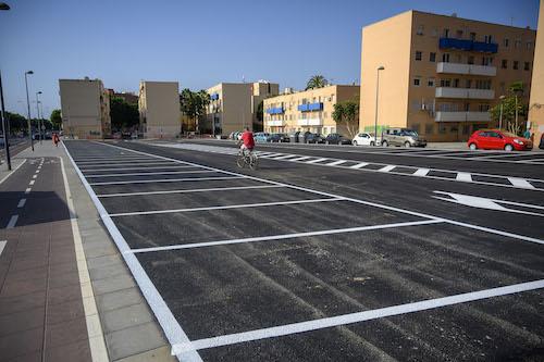 Almería uso solar parking