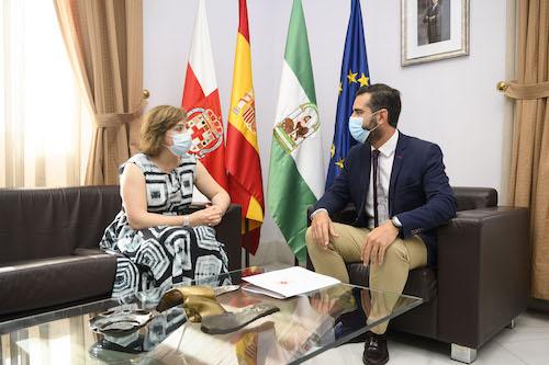 Alcalde Almería recepción Delegada