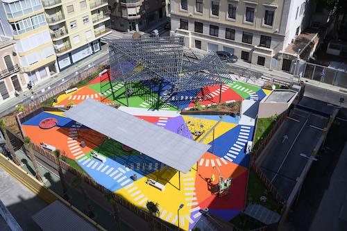Almería urbanismo remodelación plaza