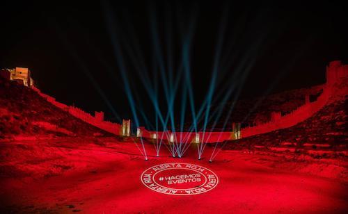 Almería iluminación apoyo cultura