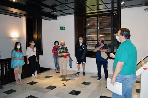 Visita doña Pakyta Almería