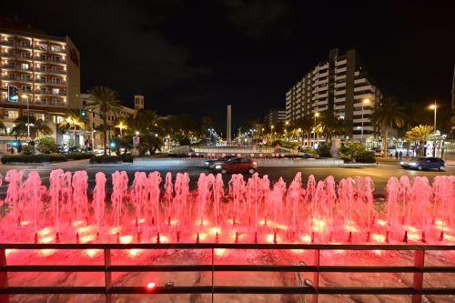 Almería iluminación Fuentes Duchenne
