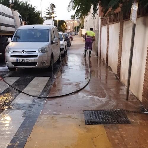 Almería operativo limpieza intensiva