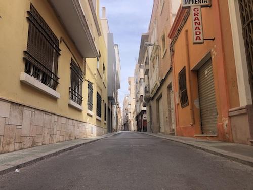 Almería urbanismo remodelación calles
