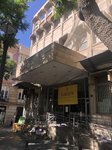 Almería urbanismo edificio Correos