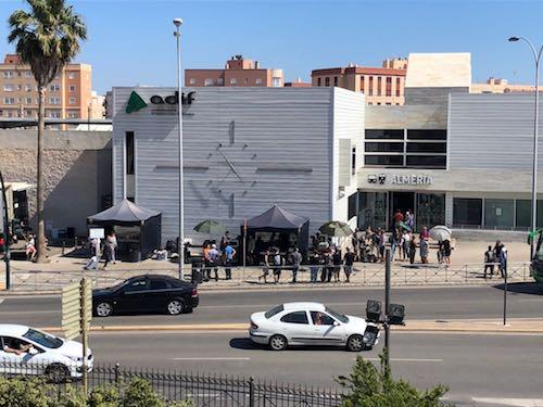 Rodaje cine Almería